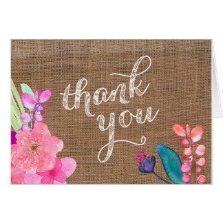 Cartões de agradecimentos de Havaí, cartões de