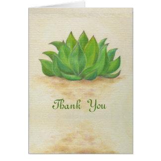 Cartões de agradecimentos de Sempervivum