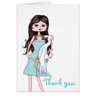 Cartões de agradecimentos de Yisel