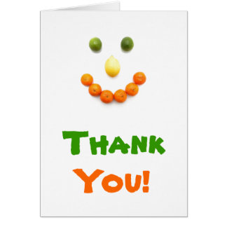 Cartões de agradecimentos Divertimento-n-Frutados