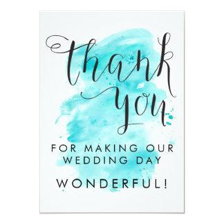 Cartões de agradecimentos do casamento do fundo da