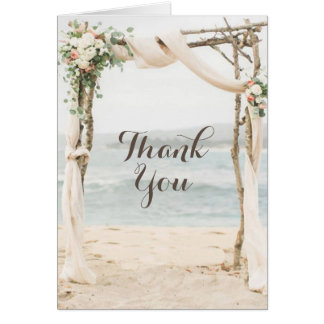 Cartões de agradecimentos do casamento do mandril