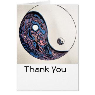 Cartões de agradecimentos do Emaranhado-tique