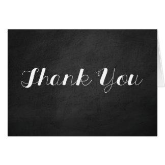 Cartões de agradecimentos do quadro
