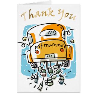 Cartões de agradecimentos do recem casados (2B)