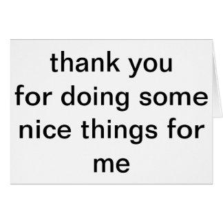 cartões de agradecimentos gerais
