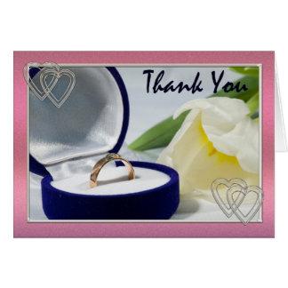Cartões de agradecimentos para wedding ou aniversá