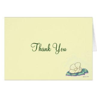 Cartões de agradecimentos pessoais ou do negócio