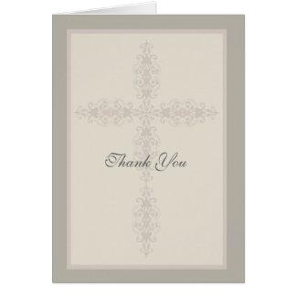 Cartões de agradecimentos religiosos do Watermark