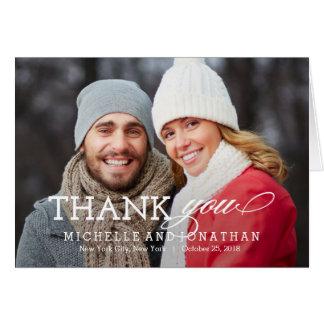 Cartões de agradecimentos simplesmente intemporais