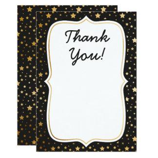 Cartões de agradecimentos temáticos mágicos do