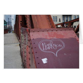 Cartões de agradecimentos urbanos dos grafites