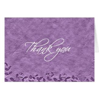 Cartões de agradecimentos - vinhas