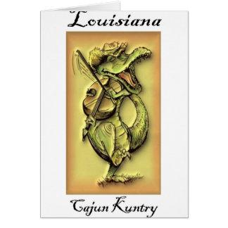 Cartões de Cajun Kuntry