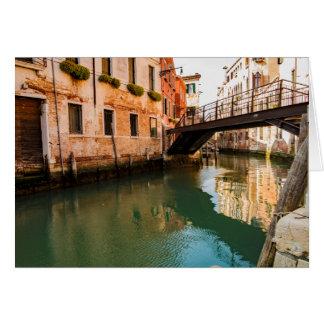 Cartões de cumprimentos de Veneza - ponte Venetian