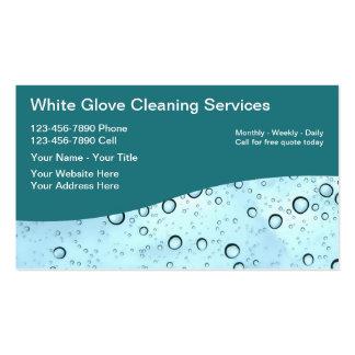 Cartões de empresa de serviços da limpeza modelo cartoes de visitas
