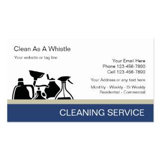 Cartões de empresa de serviços da limpeza modelos cartão de visita