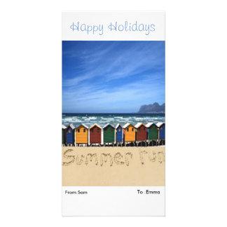 Cartões de fotos cartão com foto