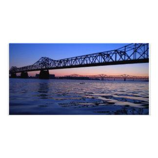 Cartões de fotos da ponte de Kennedy Cartão Com Foto