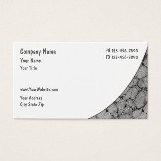Cartões de indústria da construção
