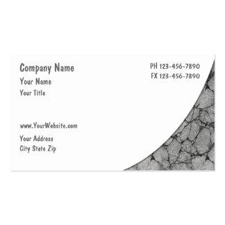 Cartões de indústria da construção cartoes de visita