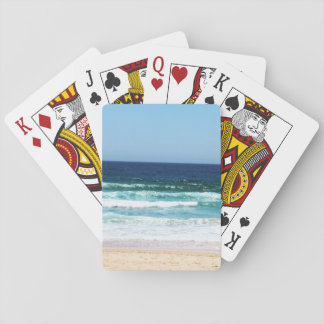 Cartões de jogo da praia jogo de carta