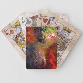 Cartões de jogo de Desarroi Baralho De Poker