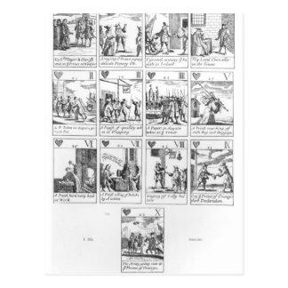 cartões de jogo do Anti-católico que comemoram Cartão Postal