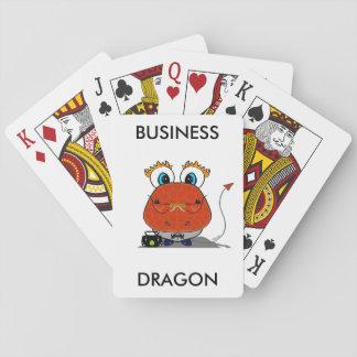 Cartões de jogo do dragão do negócio jogo de baralho