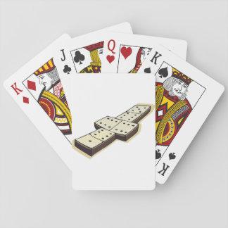 Cartões de jogo do jogo dos dominós jogo de baralho