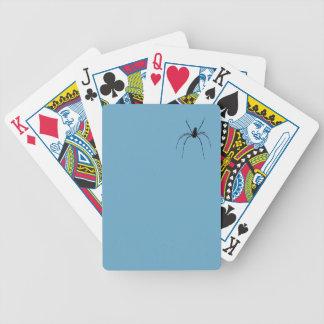 Cartões de jogo do póquer da aranha baralho