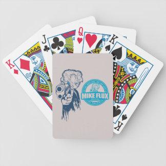 Cartões de jogo do póquer do fluxo de Mike Carta De Baralho