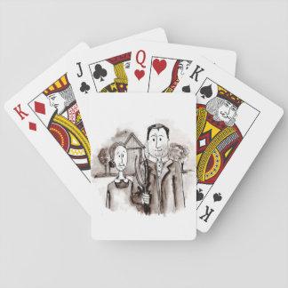 Cartões de jogo do Sr. & da Sra. Fazendeiro Baralhos