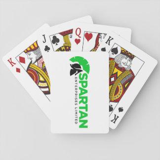 Cartões de jogo jogo de carta