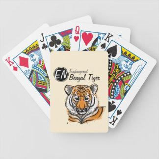Cartões de jogo pstos em perigo 2 do tigre | de |  baralho para truco
