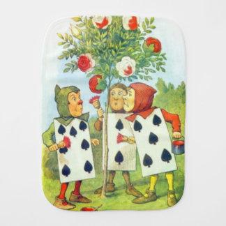 Cartões de jogo que pintam o pano do Burp de Bush Paninho De Boca