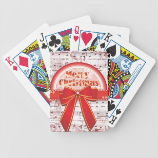 Cartões de jogo vermelhos das notas da fita do Fel Baralho Para Poker