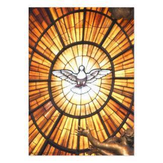Cartões de limpeza da oração do fogo cartão de visita grande