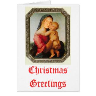 Cartões de Natal de Liz e de Laura