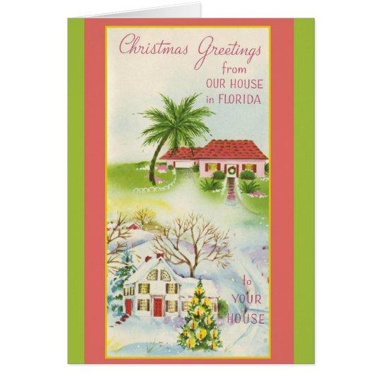 Cartões de natal de nossa casa em Florida!
