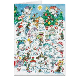 Cartões de natal para miúdos
