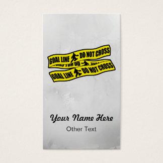 Cartões de negócio engraçados do design do hóquei