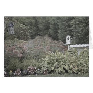 Cartões de nota do jardim do Victorian