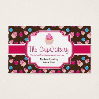 Cartões de visitas bonitos da padaria de Brown e