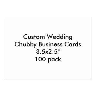 Cartões de visitas carnudos 3 5x2 5 100 do casame