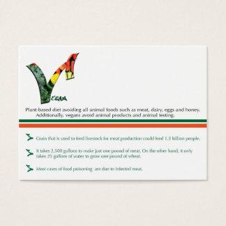 Cartões de visitas carnudos, CARTÃO branco da