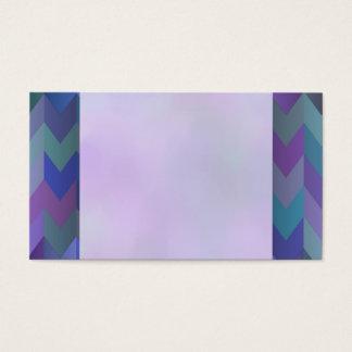 Cartões de visitas coloridos do design