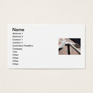 Cartões de visitas com uma foto de uma âncora em