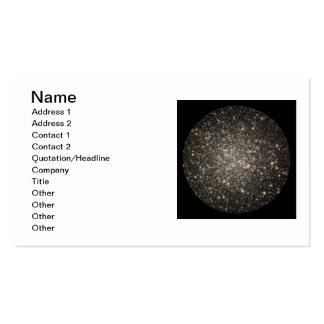 Cartões de visitas - conjunto Globular