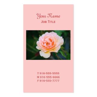 Cartões de visitas cor-de-rosa perfeitos da imagem